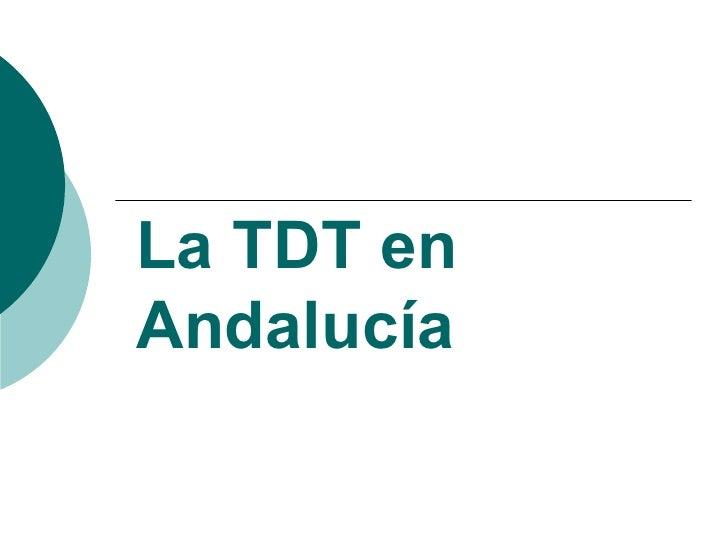 La TDT en Andalucía