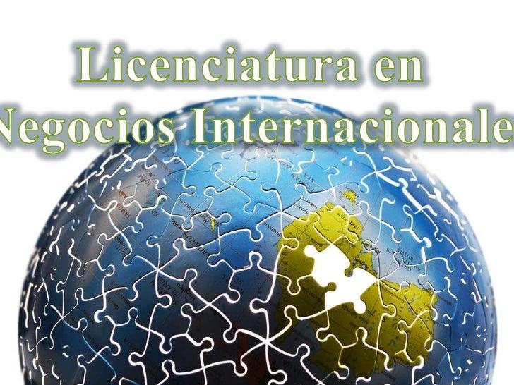 ÍNDICE1.- INTRODUCCIÓN2.- DEFINICIÓN 2.1.-NEGOCIOS INTERNACIONALES 2.2.-AUDIO3.- LICENCIATURA EN NEGOCIOS INTERNACIONALES4...