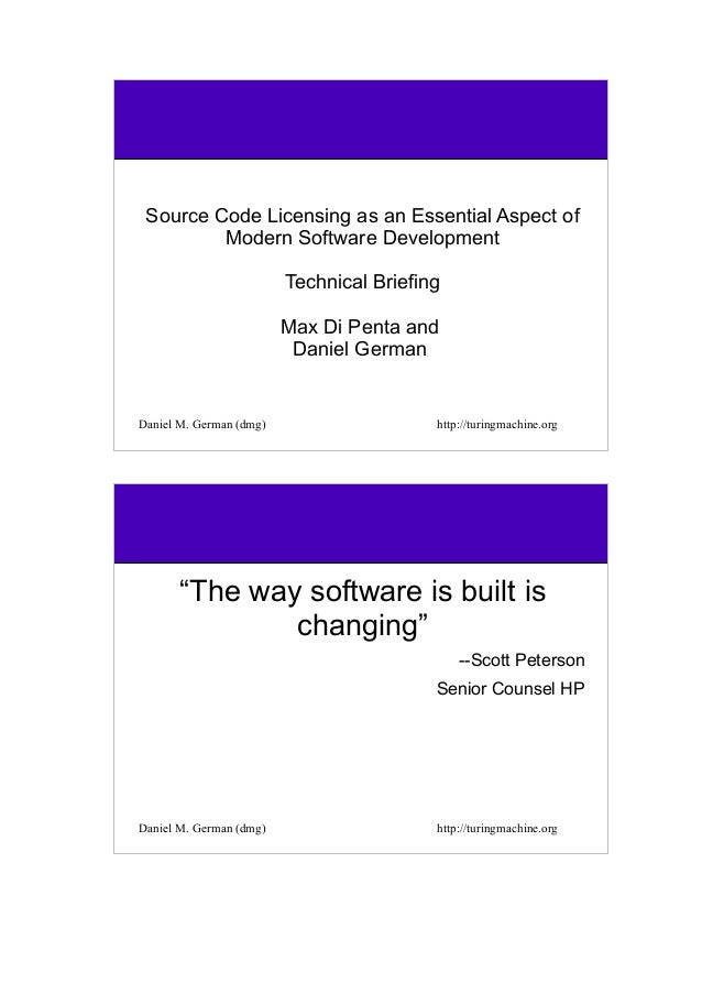 Source Code Licensing as an Essential Aspect of Modern Software Development