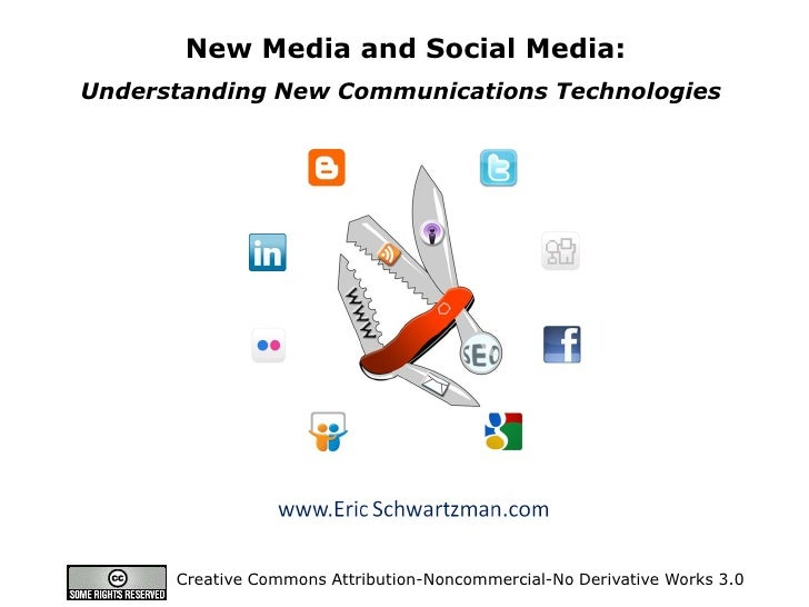 Your Gateway to Online Audiences        New Media and Social Media: Understanding New Communications Technologies         ...