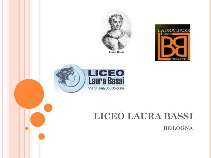 Liceo Laura Bassi