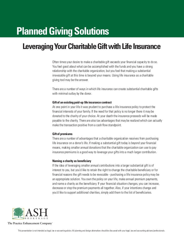 Li Charitable Giving Client