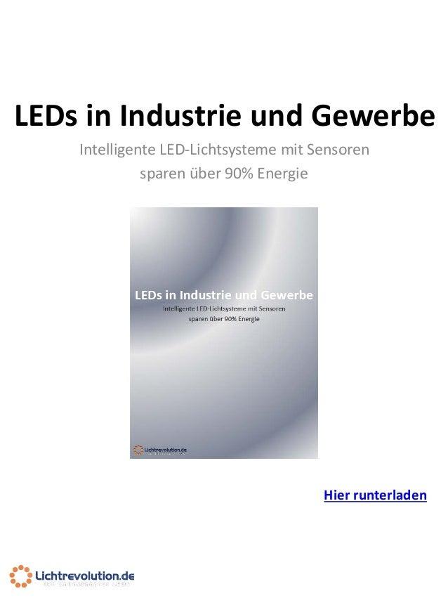 Lichtrevolution LEDs in Industrie und Gewerbe Preview