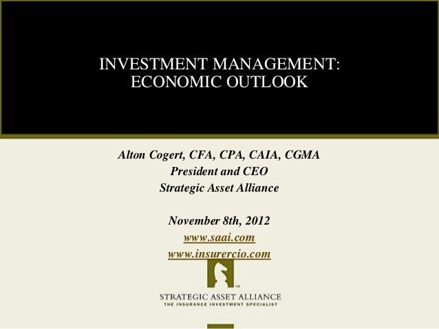 LIC Preneed Forum Presentation: Nov 8, 2012
