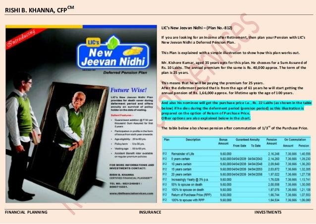lic plan 815 pdf