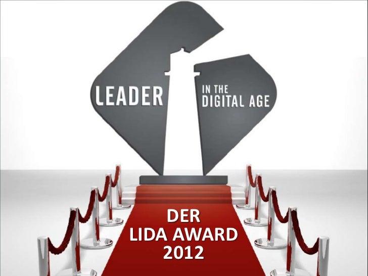 DER      2012  LIDA AWARD© doubleYUU | 23 November 2011 | 1