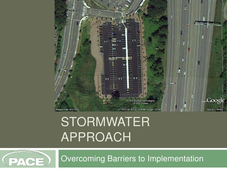 Lid Stormwater Approach: Overcoming Barriers to Implementation