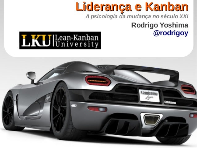 Liderança e Kanban