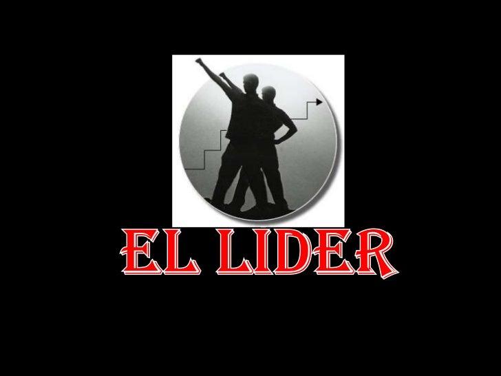 El líder<br />