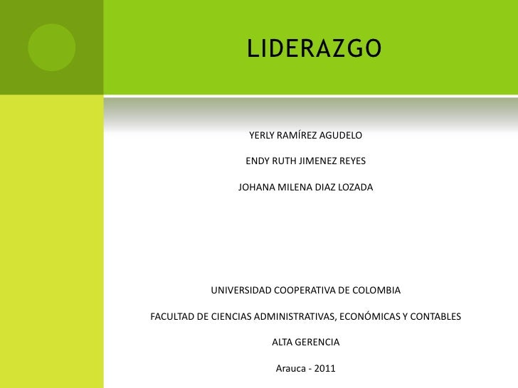 Liderazgo - Alta Gerencia