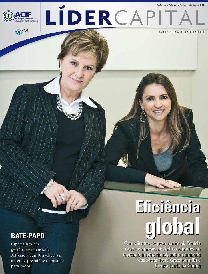 Humantech na revista Líder Capital (edição 30)