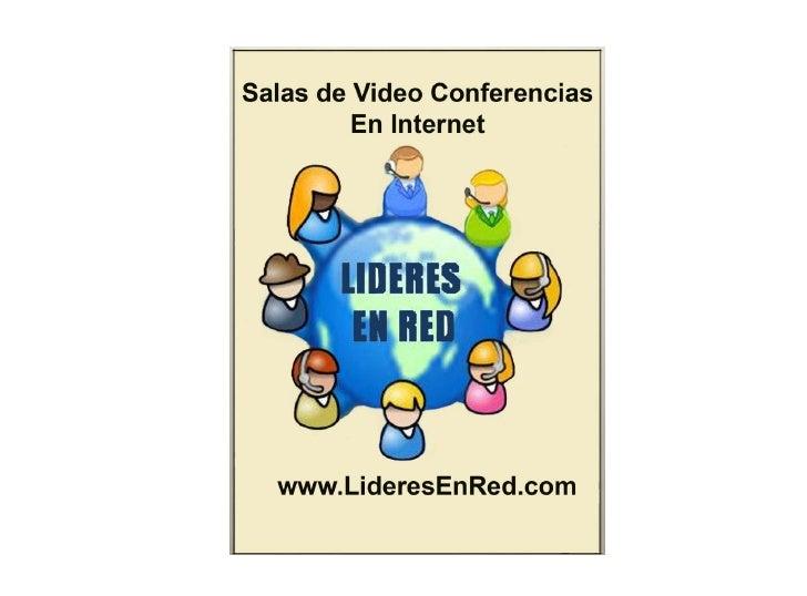 Videoconferencias en Internet comunicacion en tiempo real