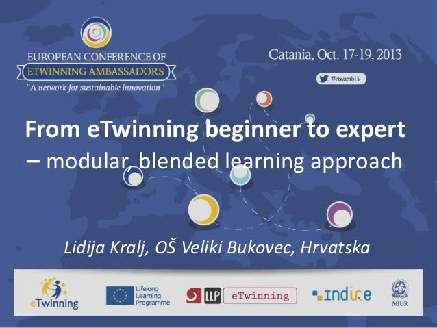 eTwinning blended learning - best practice example