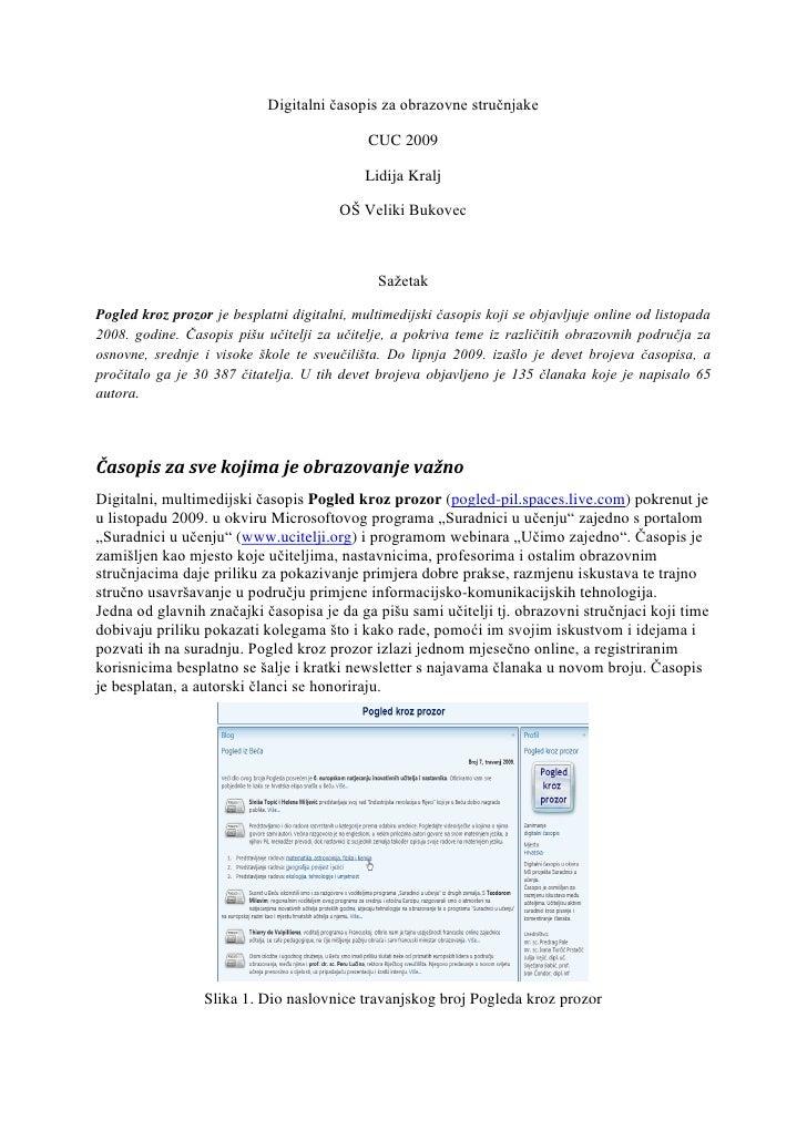 digitalni časopis za obrazovne stručnjake
