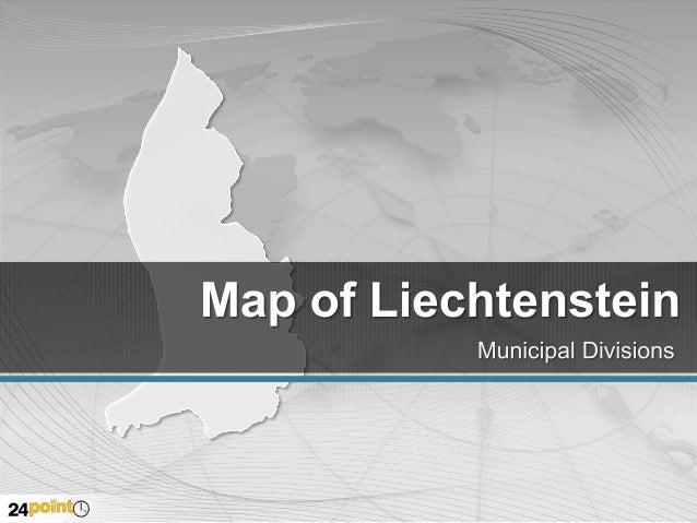Liechtenstein Map - Fully Editable PowerPoint Slides