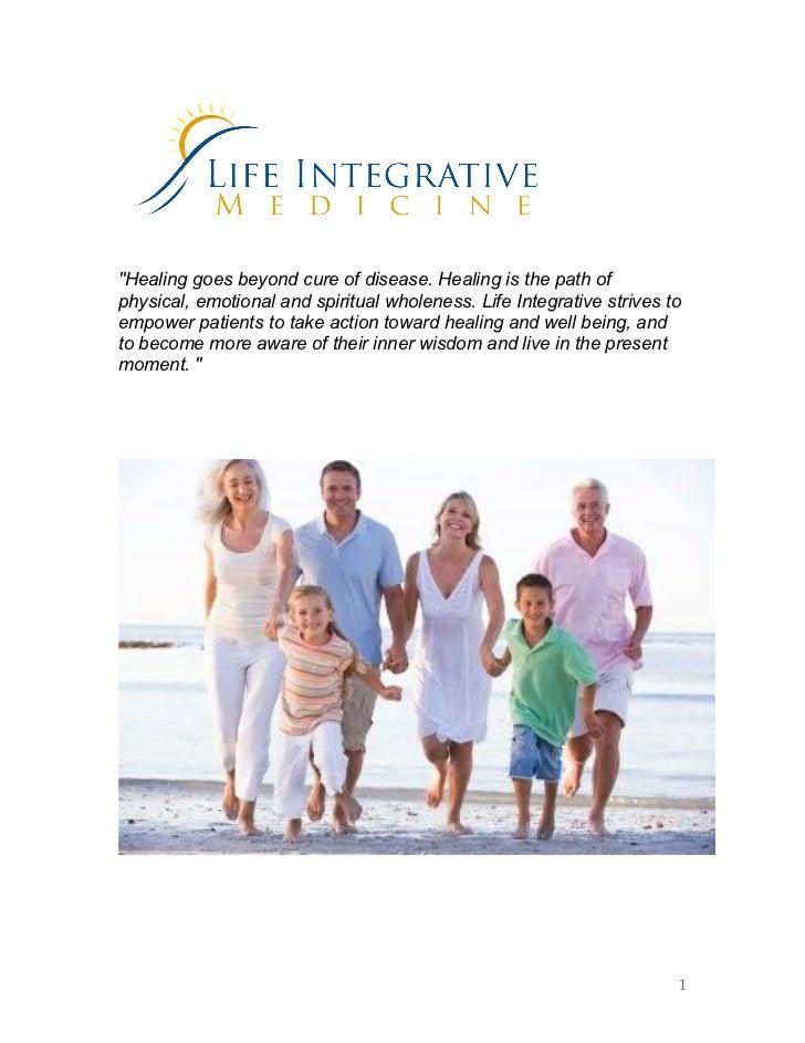 Guide To Integrative Medicine