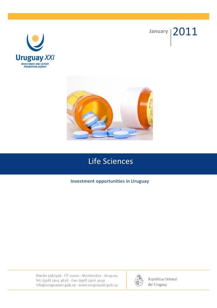 Life sciences-uruguay-xxi-january-2011