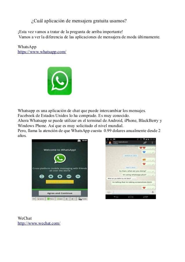 ¿Cuál aplicación de mensajera gratuita usamos? ¡Esta vez vamos a tratar de la pregunta de arriba importante! Vamos a ver l...