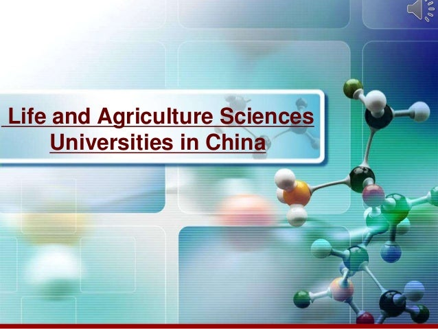 Life and Agriculture SciencesUniversities in China