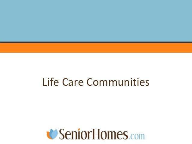 Life Care Communities