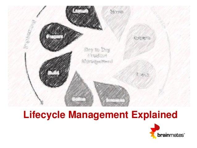 Lifecycle Management Explained