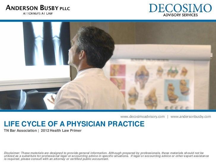 ANDERSON BUSBY PLLC                                                                                    www.decosimoadvisor...