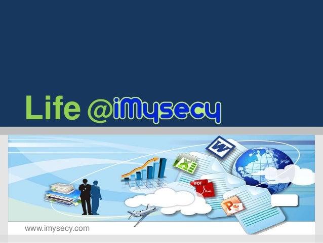 Life @www.imysecy.com
