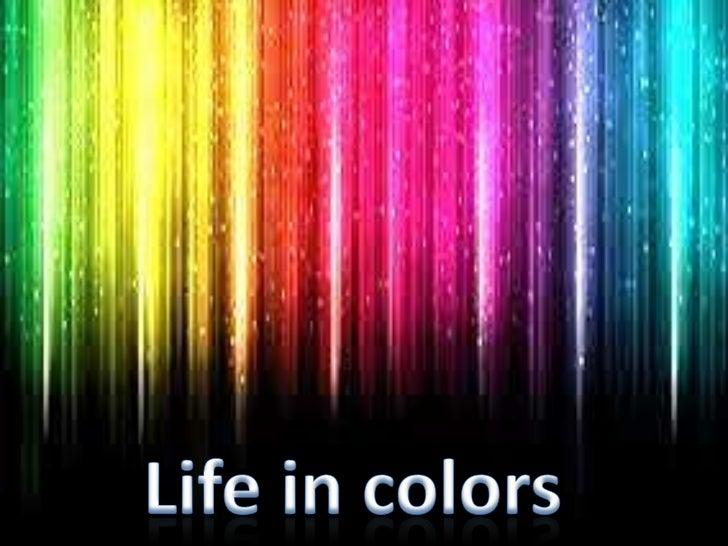 Unit: life in colors/ Lesson: 1