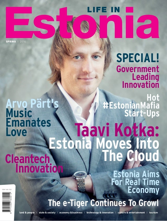 Life in Estonia (Spring 2014 issue)