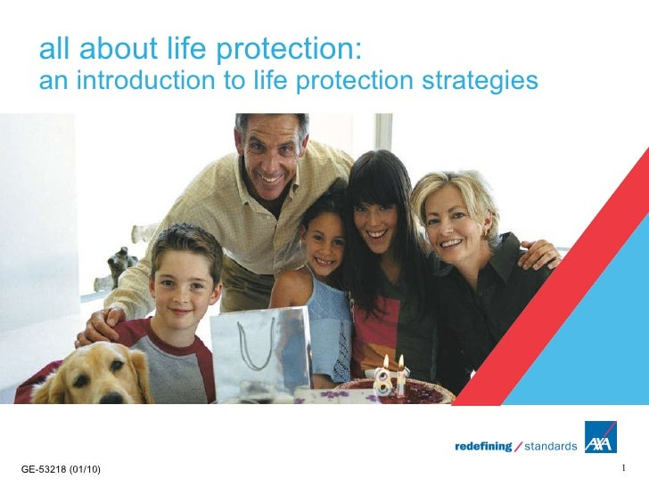 all about life protection:  an introduction to life protection strategies