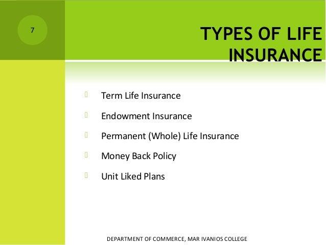 Insurance Endowment
