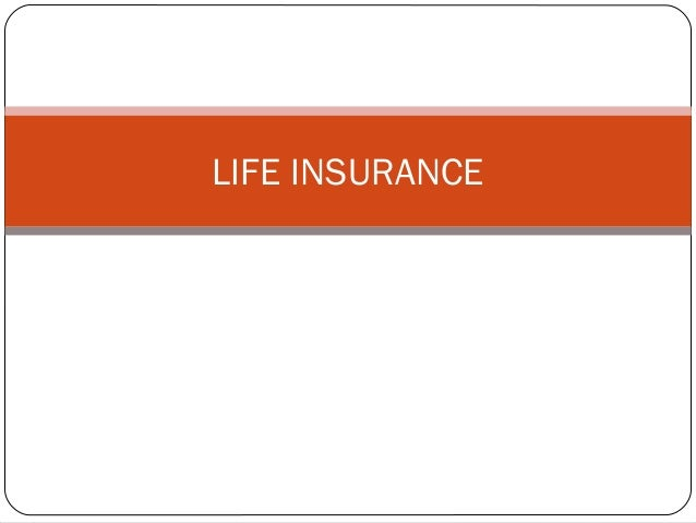 Life insurance - Unitedworld School of Business