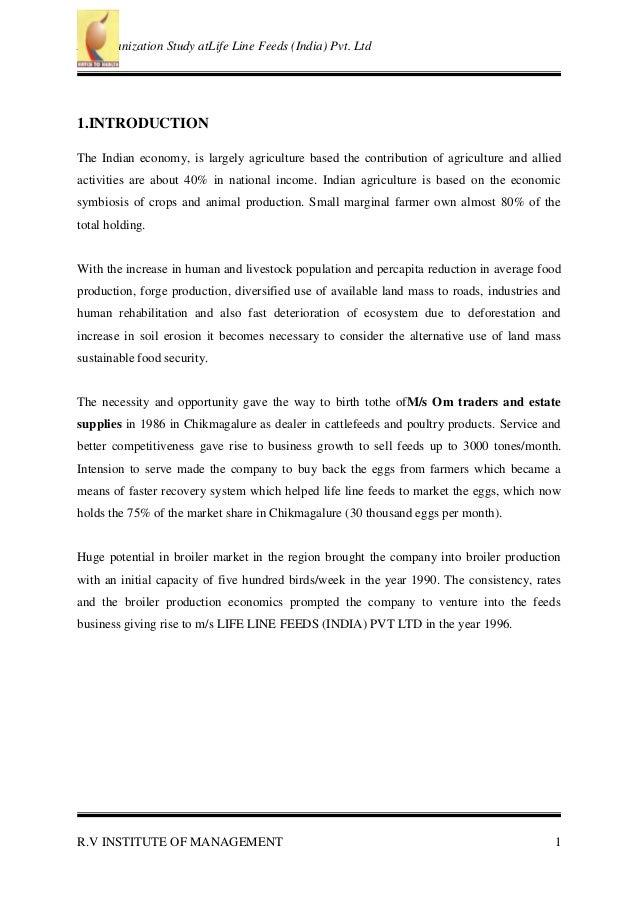 Life Line Feeds India Pvt Ltd