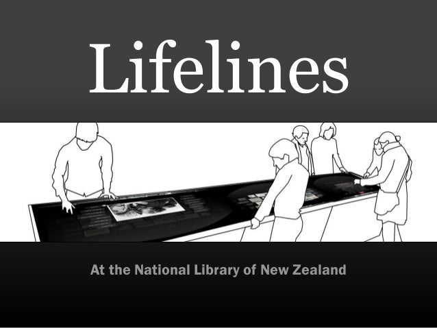 LifelinesAt the National Library of New Zealand