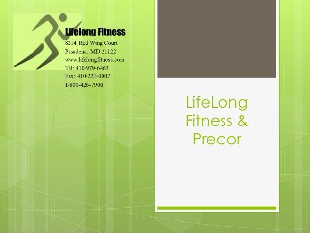 LifeLongFitness & Precor