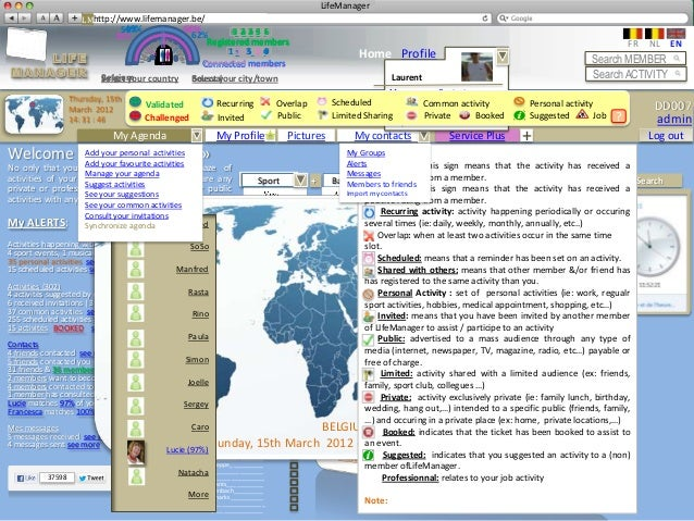 LifeManager                     LMhttp://www.lifemanager.be/                                 49%                          ...