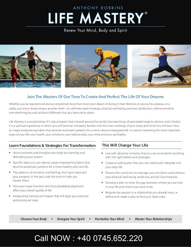 Learn Foundations & Strategies For Transformation •	 How to reinvent and energize your body by cleansing and detoxifying y...