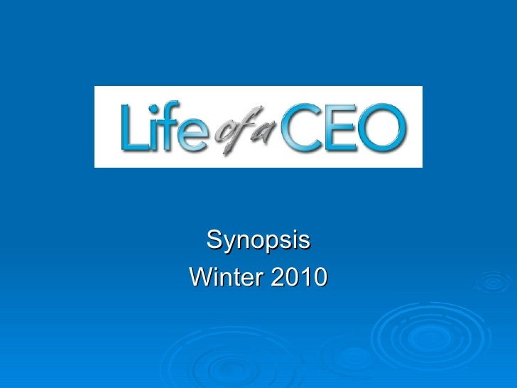Synopsis Winter 2010
