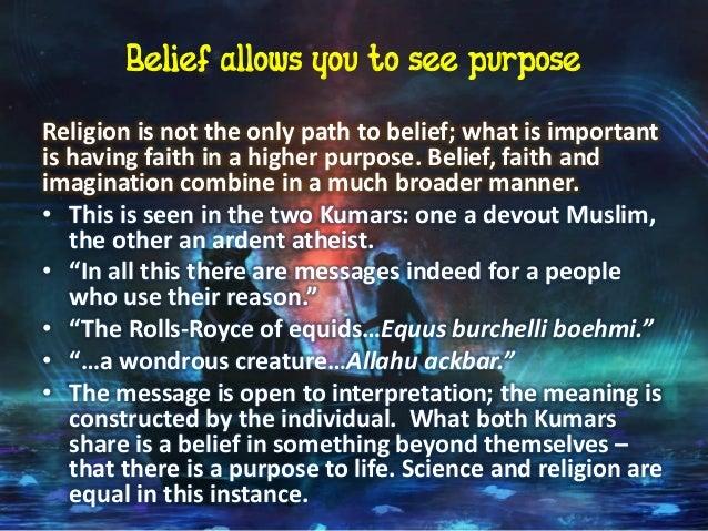 life of pi essay belief