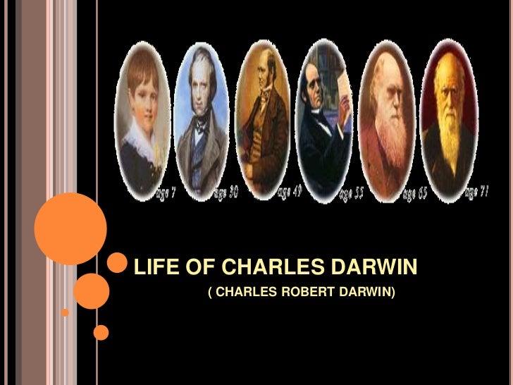 Life of  charles darwin