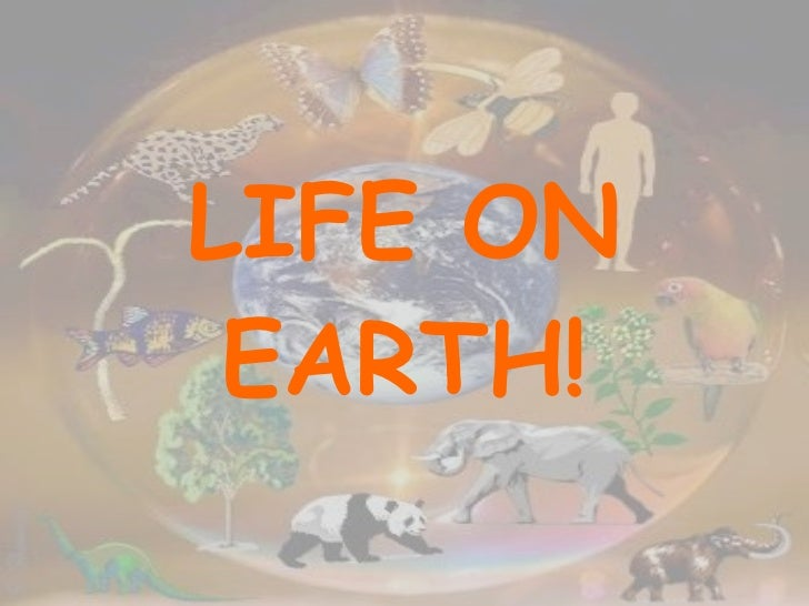 Life on earth (updated) (2)