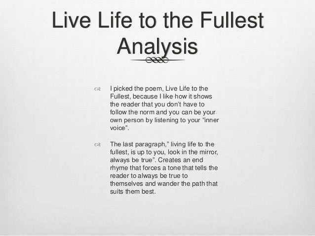 moment poetry analysis This is a poem written for and dedicated to my best friend if i thought for just one moment that this would be my last breath.