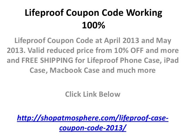 Lifeproof coupon code