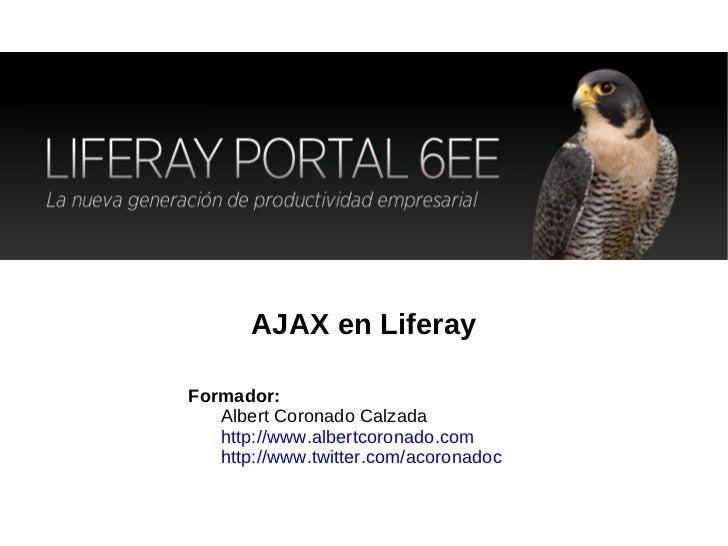 Ajax en Liferay 6