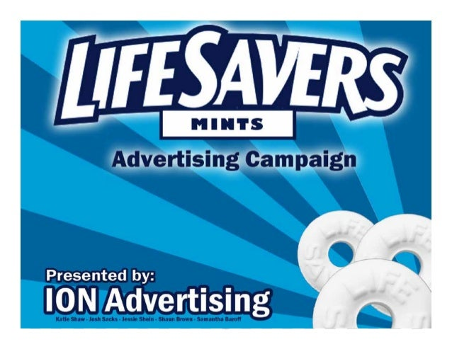 Executive Summary:Life Savers are refreshing and tasteful mints that are packaged in a way that allows you to enjoythe min...