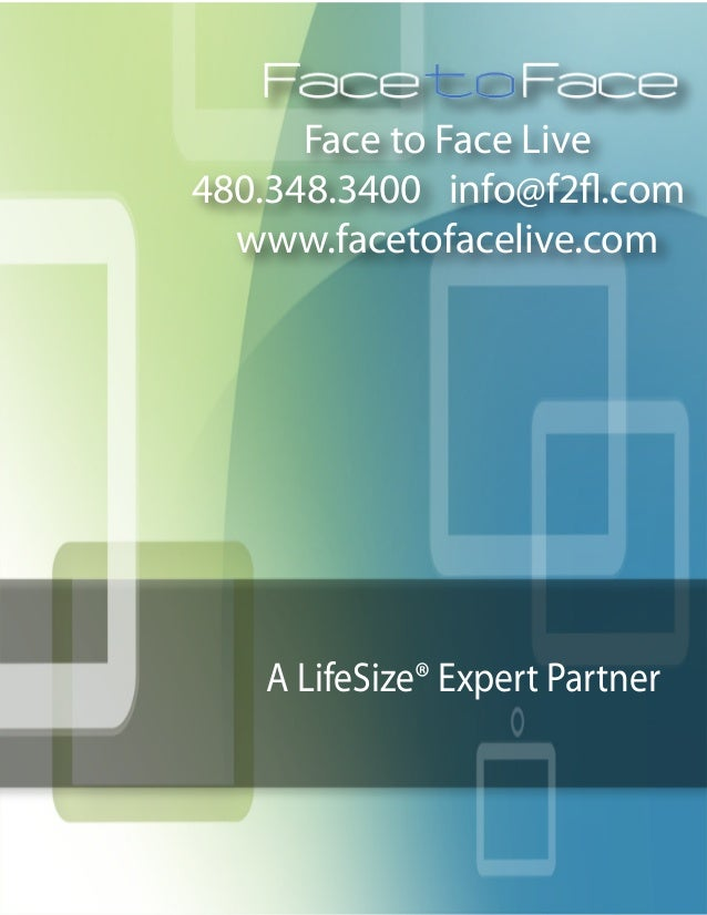 LifeSize Data Sheet Bundle by Face To Face Live