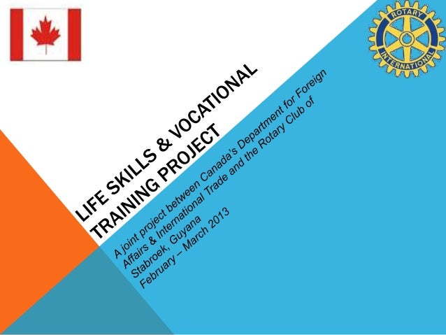 Life skills and Vocational Training Project   closing ceremony