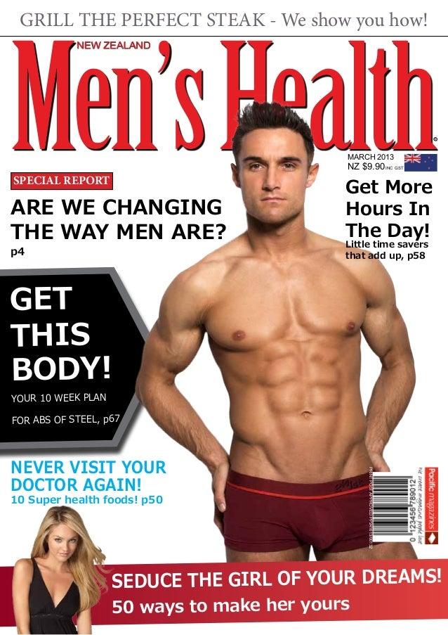 New Zealand Men's Health Magazine (spec)