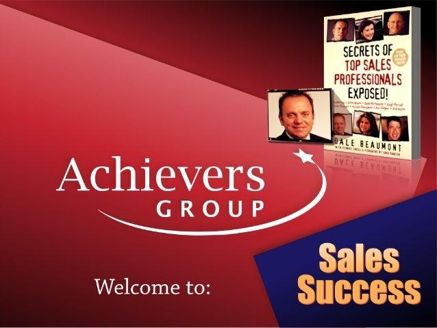 Lifestyle tradie sales presentation