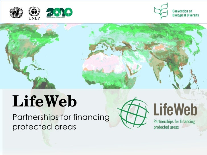 LifeWeb Partnerships for financing protected areas